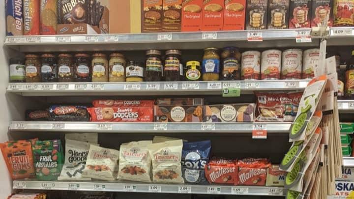 Photo Of British Food Section In US Supermarket Sparks Debate On Reddit