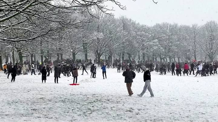 Two Men Fined £10,000 Over Snowball Fight In Leeds
