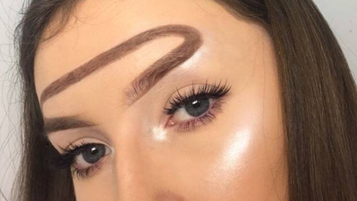 Halo Eyebrows Are Apparently A Thing If You Want To Switch Things Up