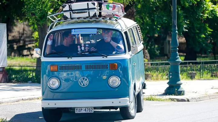 Gordon, Gino And Fred Spotted Filming New Series Of Road Trip