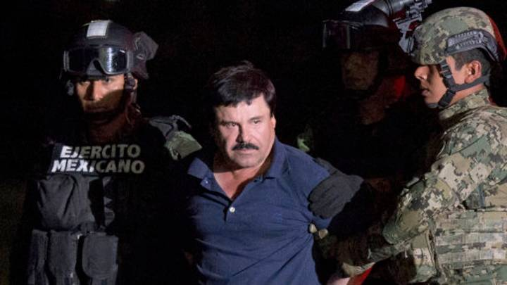 ​El Chapo Promises He Won't Have Jurors Swimming With The Fishes