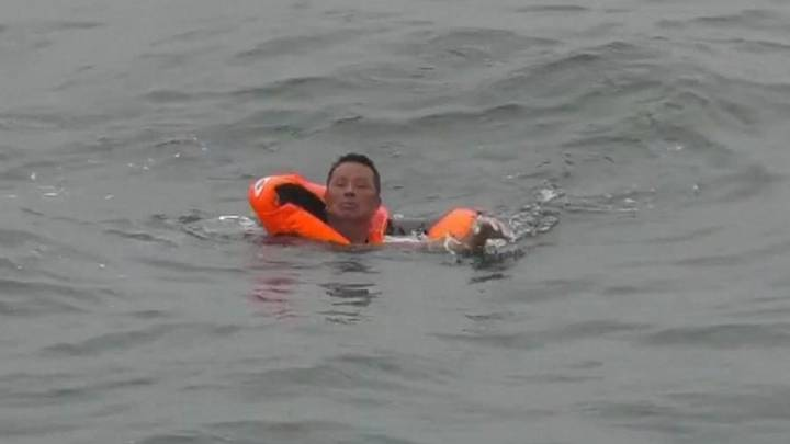 Man Rescued After 48 Hours In The Sea Following Ship Sinking