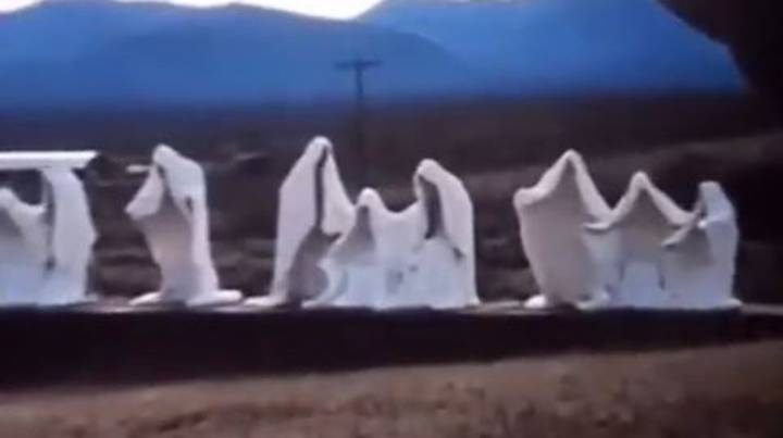 'Creepy Hooded Men' Spotted In Ghost Town On Google Earth