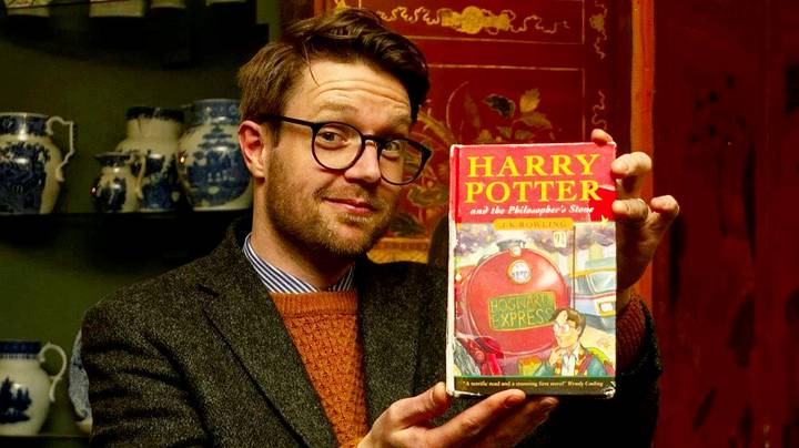 Copy Of Harry Potter Book Found In School Skip Sells For £33,000
