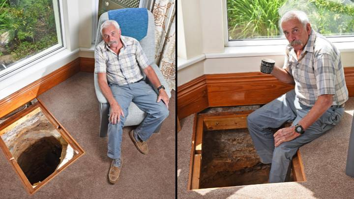 Grandad Discovers 500-Year-Old Medieval Well Under His Living Room Floor