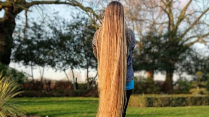 Woman With 5ft 2in Hair Says Men 'Fall In Love' With Her Because Of It