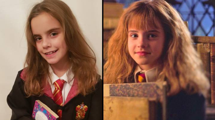 Little Girl Looks So Much Like Harry Potter's Hermione People Stop Her In The Street