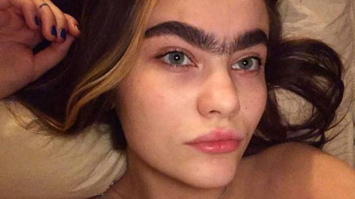 Model Says Unibrow Is A Fetish For Some Men And Her DMs Are Full