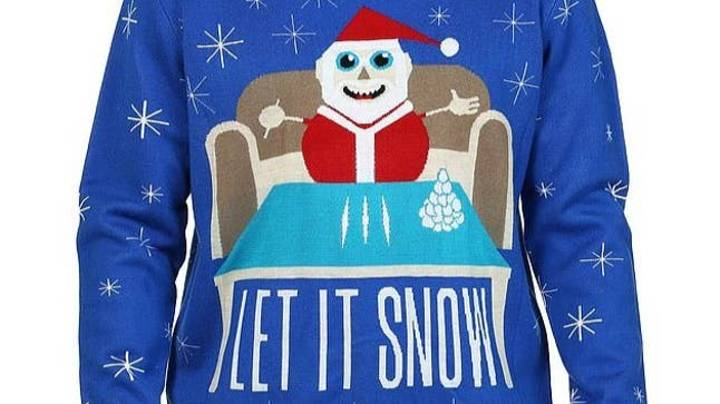 Walmart Forced To Apologise After Selling Christmas Jumper That Shows Santa Doing Coke