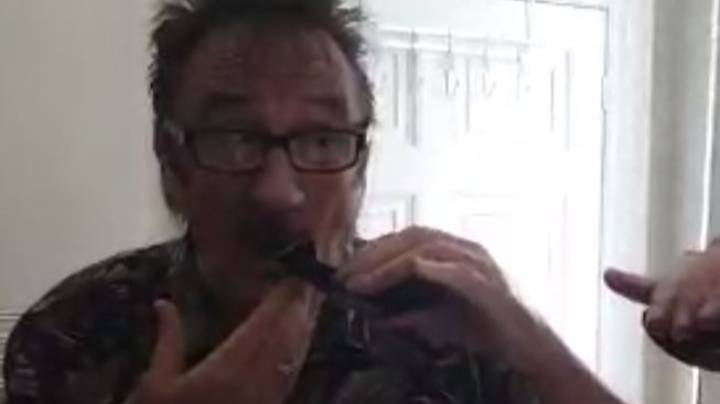 Paul Chuckle Shaves His Moustache Off For The First Time In 49 Years