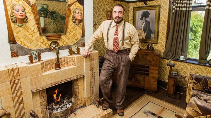 Man Turns House Into A Kitted Out 1930s Bachelor Pad