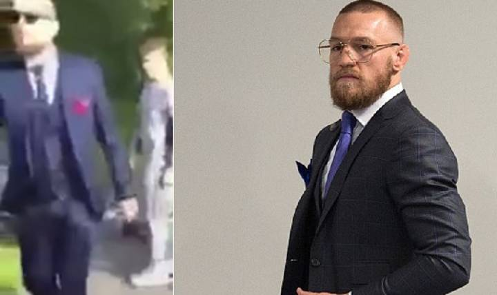 People Think This Viral Video Shows Conor McGregor Interrupting A Public Fight