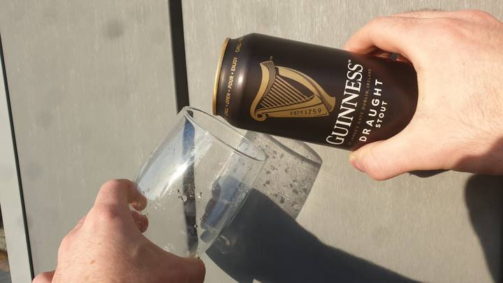 'Guinness Guru' Explains How To Pour The Perfect Pint From A Can