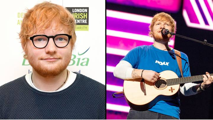 Ed Sheeran Breaks All-Time Record For Most Money Made In One Year By A Musician