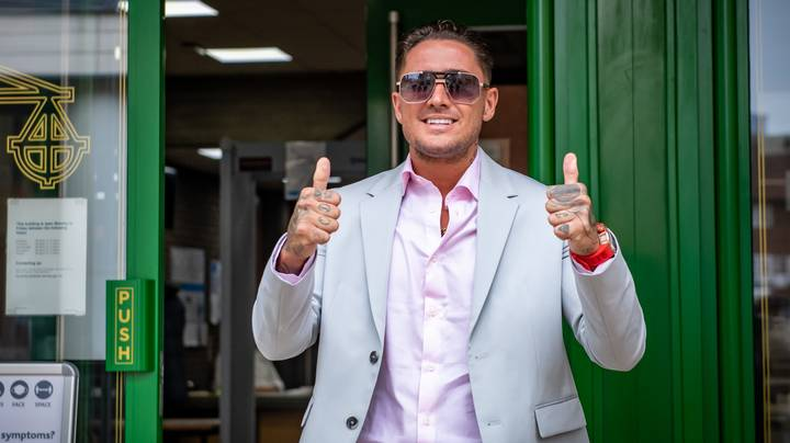 Stephen Bear Gives Judge Double Thumbs Up As He Pleads Not Guilty To Sharing Private Sexual Images