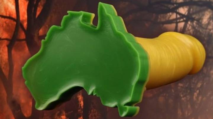 All Sales From This Patriotic Sex Toy Will Be Donated To Bushfire Appeal
