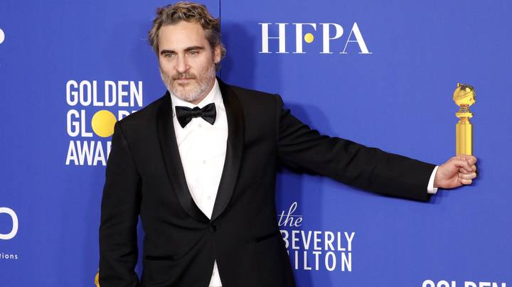Joaquin Phoenix Will Wear Same Tuxedo To Every Awards Show This Year To 'Reduce Waste'