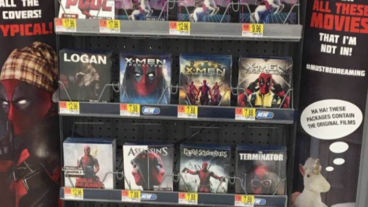 'Deadpool' Takes Over A Bunch Of Classic Movie Covers