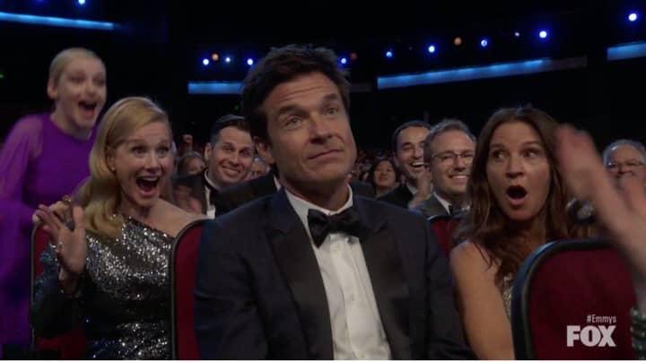 Jason Bateman Turns Himself Into Meme After Emmy Win Reaction