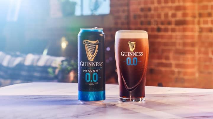 Guinness 0.0% Drink Is Back On The Shelves