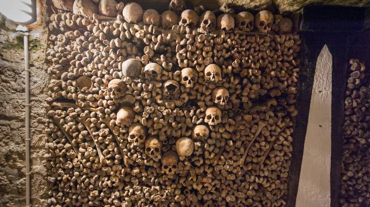 Inside The Catacombs Of Paris