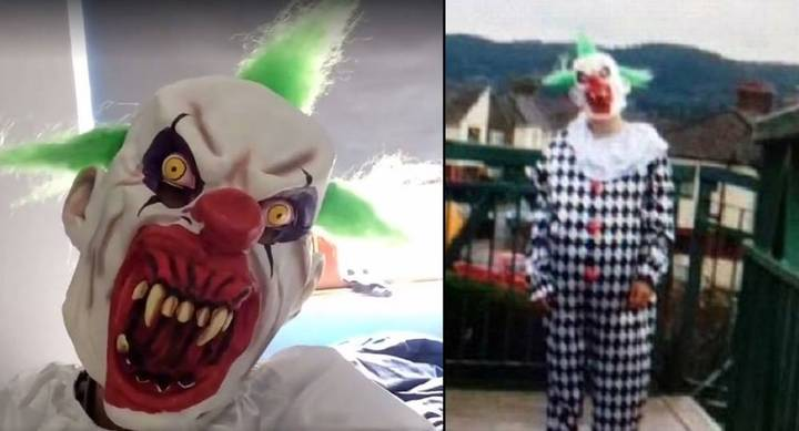 Guy Gets Ridiculous Punishment For His Creepy Clown Prank On A School