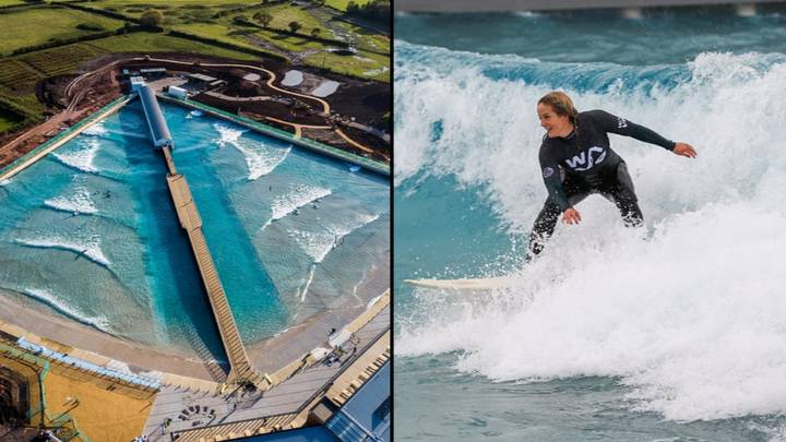 England's First Inland Surfing Lake Opens Tomorrow