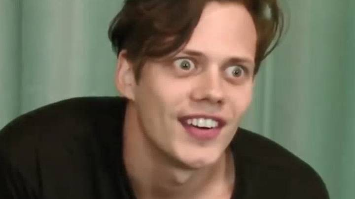 Bill Skarsgård's First Audition For Pennywise Is Creepy As Hell