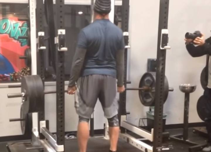 The Undertaker Lifting 500lbs And Doing 40 Inch Vertical Jumps At 50-Years-Old