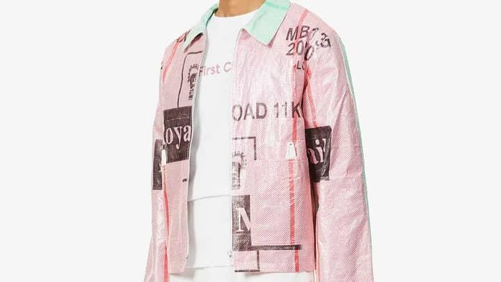 Posties Mock £445 Selfridges Jackets Made From Royal Mail Sacks