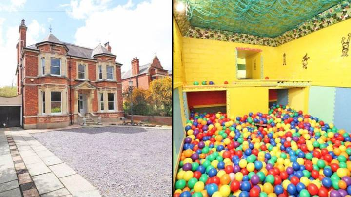 Five-Bedroom House With Giant Ball Pit Play Room Goes On Sale