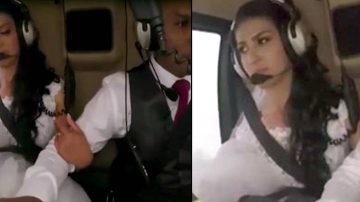 Footage Emerges Of Bride And Her Brother Killed In Helicopter Crash On Way To Wedding