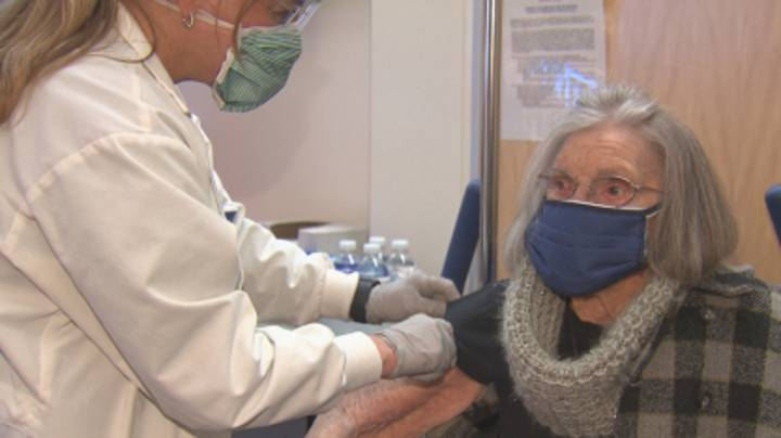 Woman, 103, Vows To 'Go Wild' Now She's Had Covid-19 Vaccine