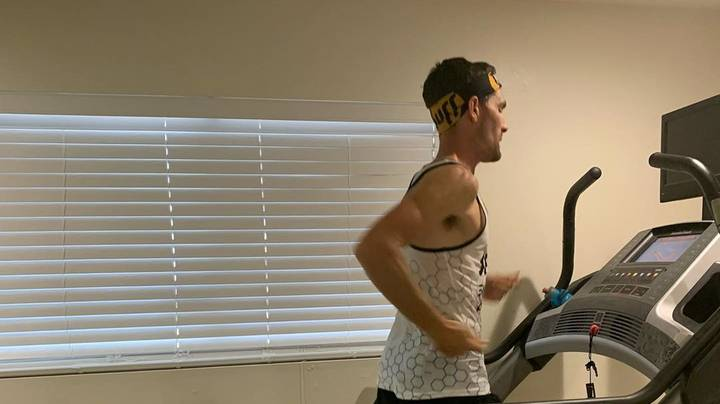 Distance Runner Smashes 100 Mile Record On The Treadmill In Lockdown