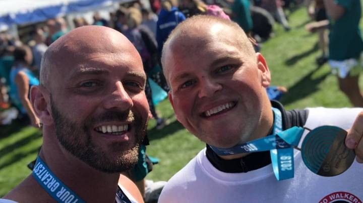 Former Fast Food Addict Who Dropped 19 Stone Completes Great North Run
