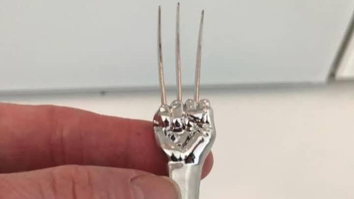 Hugh Jackman Reveals He Has His Own Wolverine Fork
