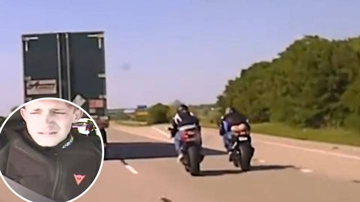 Biker Starts Crying When He's Caught Doing 183mph By Traffic Police