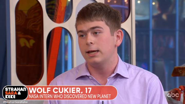 Teenager Discovers New Planet On Third Day Interning At NASA