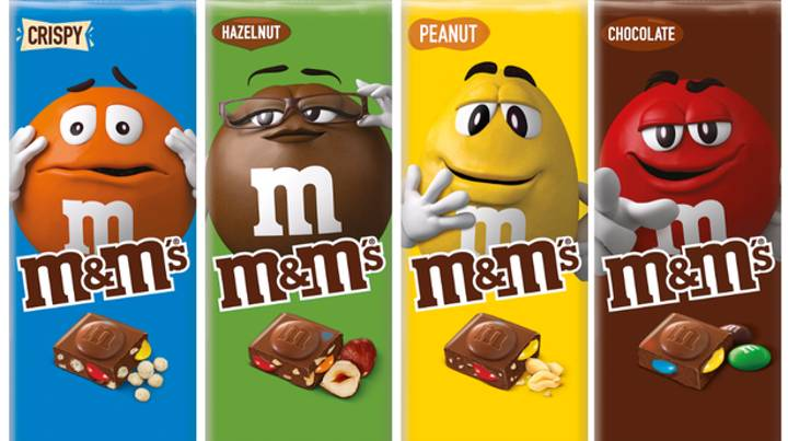 M&Ms Launch Its First Ever Chocolate Bars