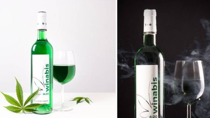 Wine Infused With Cannabis Is Now Available