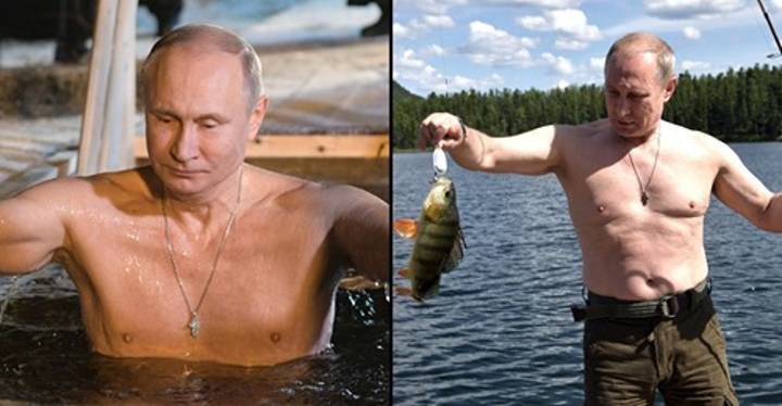 Vladimir Putin Has Been Named Russia's Hottest Man