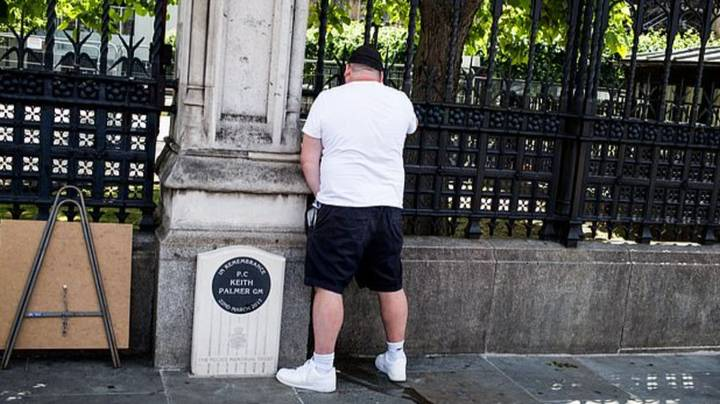 Man Jailed For Two Weeks For Urinating Near Memorial To PC Keith Palmer