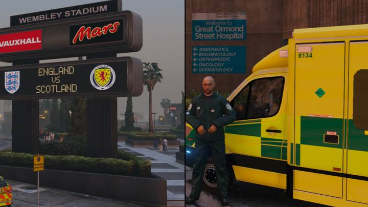Modders Are Currently Making 'Project London' For 'Grand Theft Auto V'