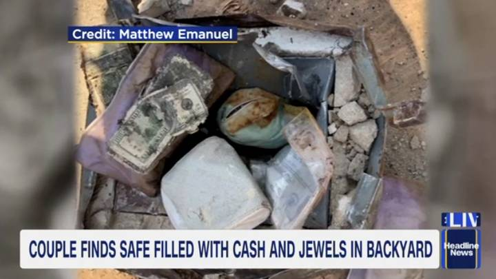 Couple Find Safe In Back Yard With $52,000 Worth Of Treasure