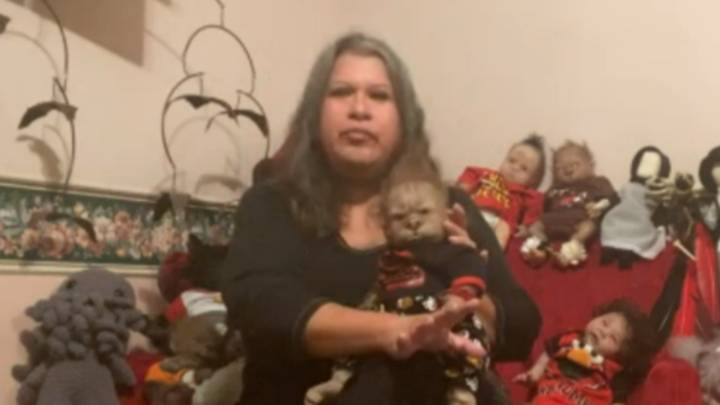 Woman Baffles This Morning Viewers With Her 'Creepy' Werepup Doll Collection
