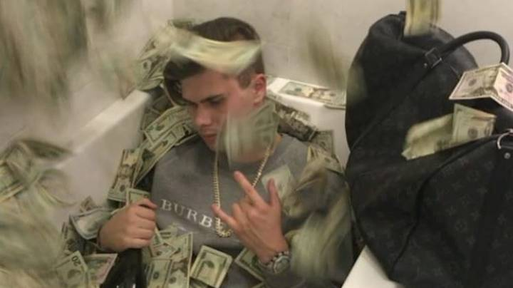 Drug Dealer Who Posed On Instagram With Cash, Women And Guns Is Jailed For 17 Years