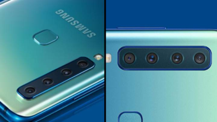 Samsung Unveils The First Smartphone With Four Cameras