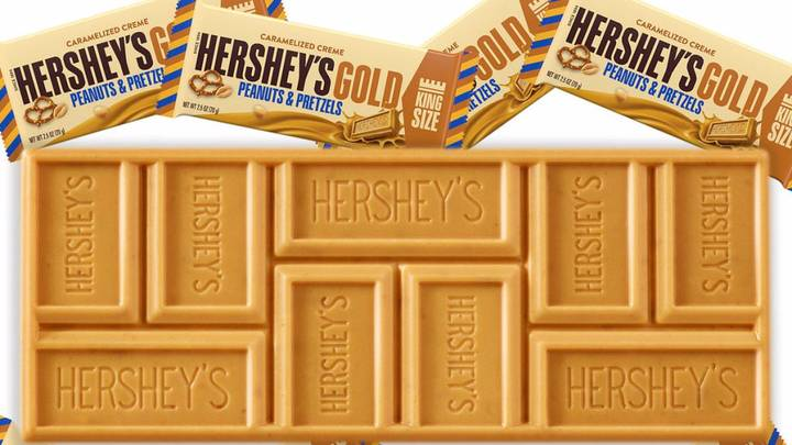 ​Hershey's Unveils New 'Gold' Chocolate Bar And It Looks Delicious