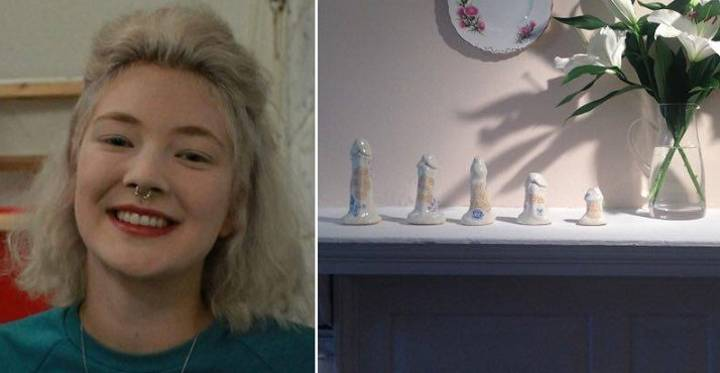 Girl Makes Erect Penis Sculptures From Memory Of Guys She's Slept With