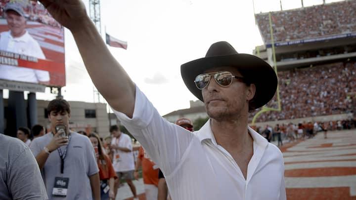 Wet Dreams Inspired Matthew McConaughey To Travel The World